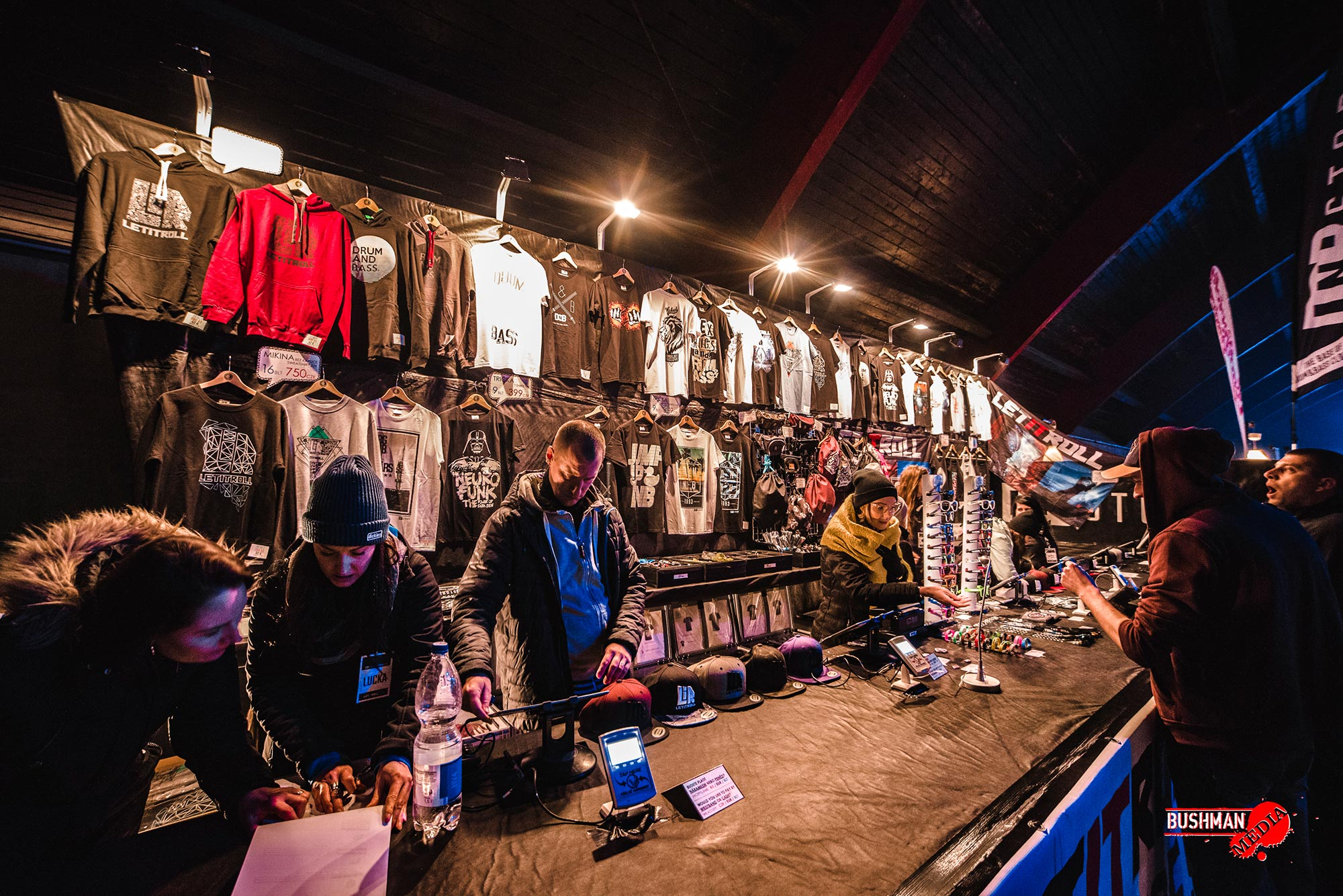 Escape Wear a DNB Store - eventy - stánek